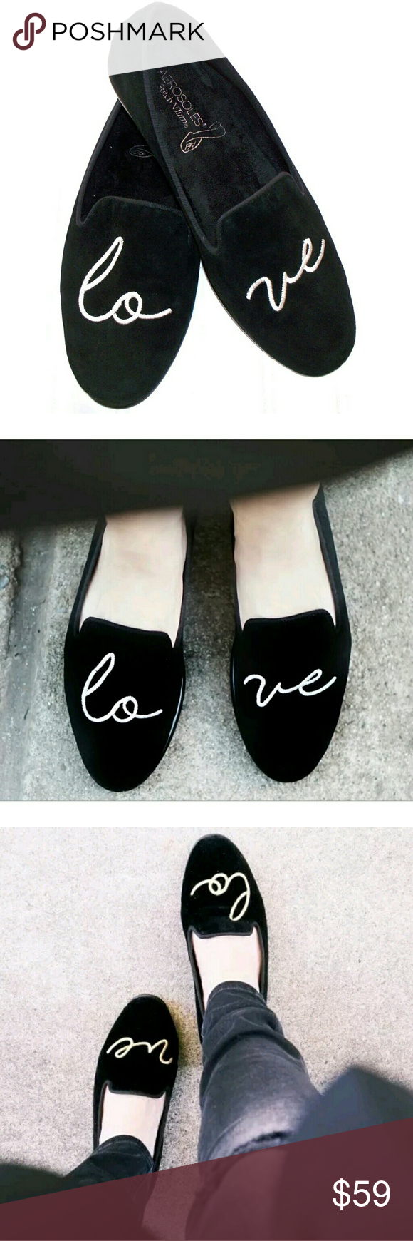 a04409e17bb AEROSOLES Betunia Love smoking slippers loafers Aerosoles Betunia Smoking  Slippers are wonderfully charming thanks to its