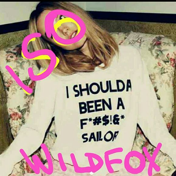 Iso THIS!! Wildfox really any shirt that says this! I want it! Tops