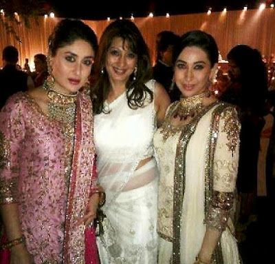 Bollywood Tollywood Mas Kareena Kapoor Saif Ali Khan Delhi Wedding Reception