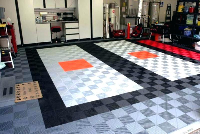 27 Awesome Garage Flooring Designs The Handy Guy Floor Design Garage Floor Flooring
