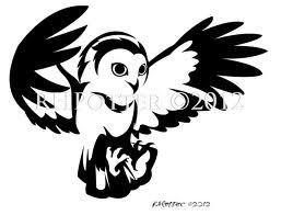 owl silhouette - Cerca con Google