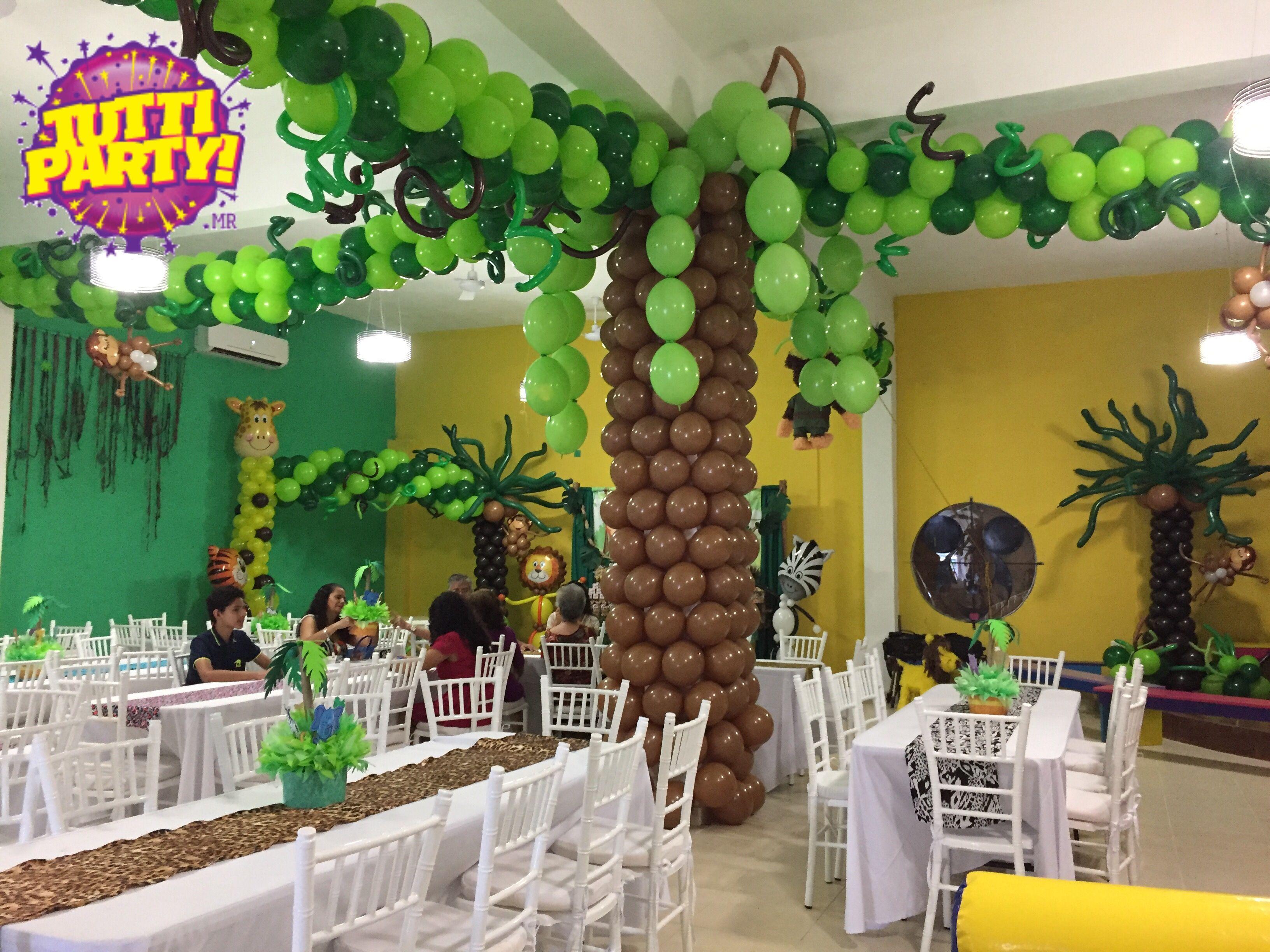 Jungle party ideas animals party ideas animales de la for Decoracion de aulas infantiles