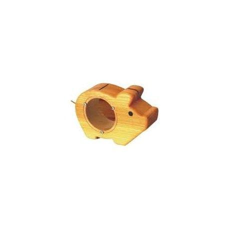 """Zabawka Bajo 71820 - Drewniana Świnka Skarbonka - Naturalna, z drewna bukowego najlepszej jakości dla Dzieci od lat 2.  U góry świnka ma otwór, przez który można wrzucać pieniążki, a z przodu plastikowe okienko postępu oszczędzania. Mimo, że jest wykonana w Polsce """"Naturalnie przyjmie każdą walutę"""" :)  http://www.niczchin.pl/zabawki-drewniane/3374-bajo-71820-drewniana-swinka-skarbonka-naturalna.html  #bajo #świnkaskarbonka #drewnianaskarbonka #zabawki #oszczędzianie #niczchin #kraków"""