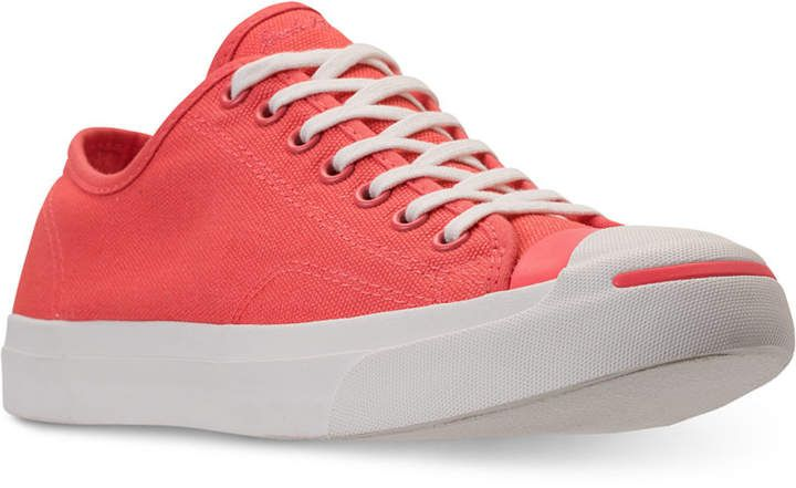 online store 0f55f def83 Converse Men s Jack Purcell Jack Ox Casual Sneakers from Finish Line