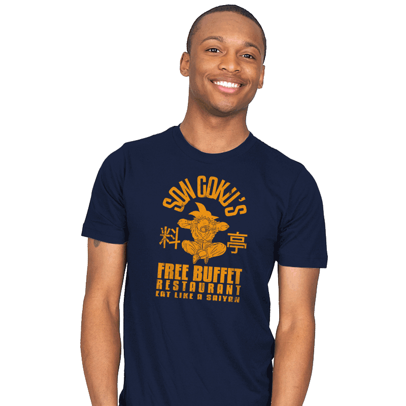 Free Buffet Shirt: A T-shirt for Men, Woman, Kids | RIPT Apparel