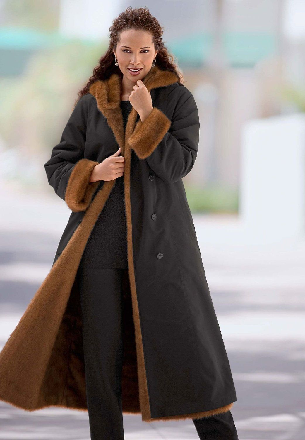 Womens long winter jackets