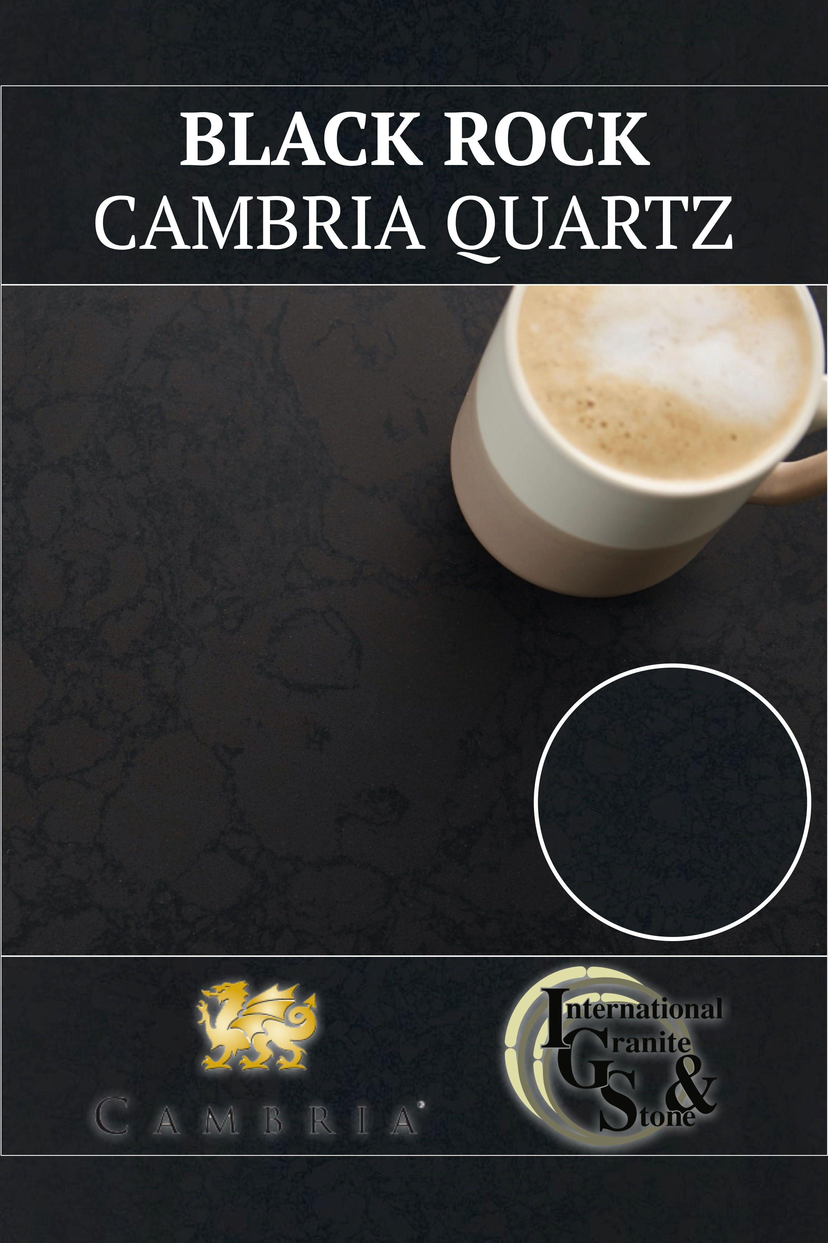 Black Rock Cambria Quartz Countertops Cost Reviews Cambria Quartz Black Rock Cambria