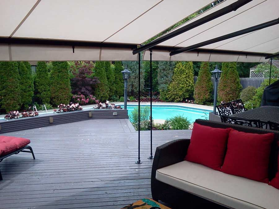 Our Retractable Awnings Come From Italy We Deliver In 2 Weeks Esterno Tende