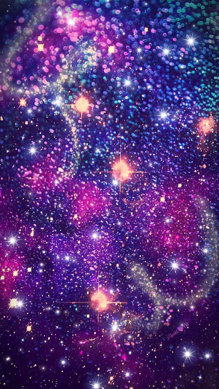 purple galaxy aesthetic - 720×1280