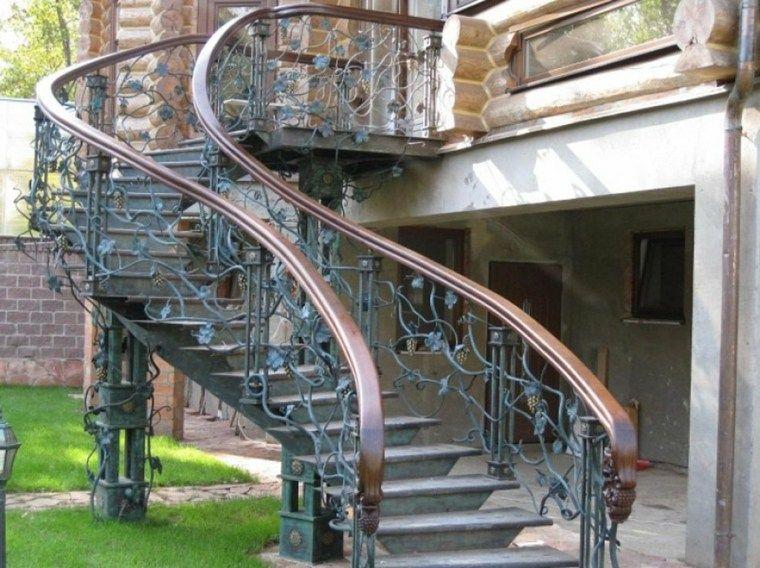 Escaleras Para Patios Exteriores