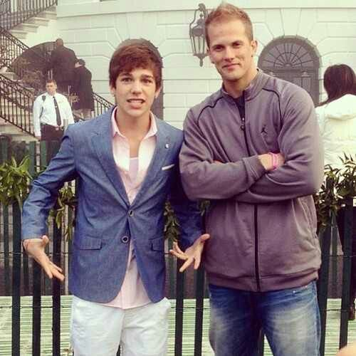 Austin And Dave At The White House Austin Austin Mahone To My Daughter