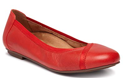 vionic women's spark caroll ballet flat  ladies dress