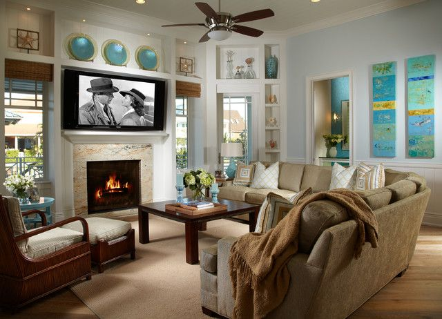 Coastal Living Davis Island Interior Design Home Decor Style