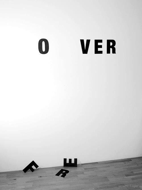 No more forever ..