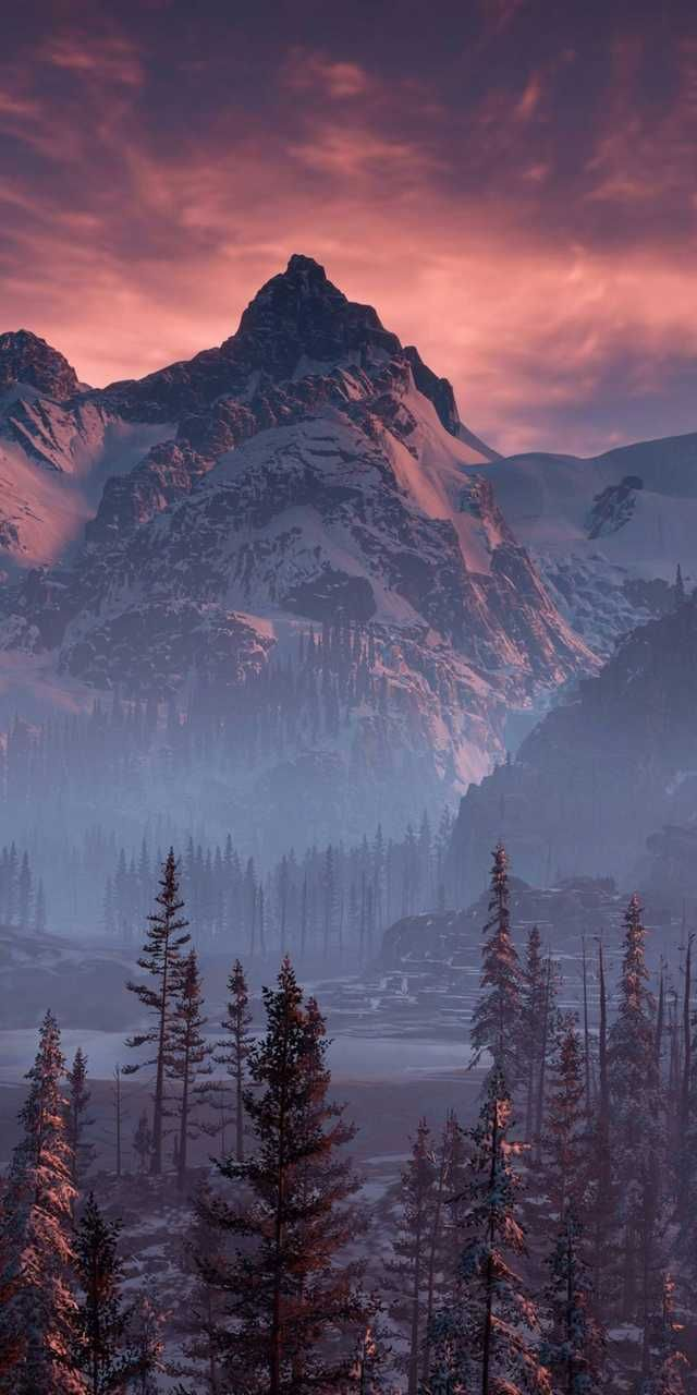 Mountain 4K Krajina, Nádherná místa a Kreativní fotografie