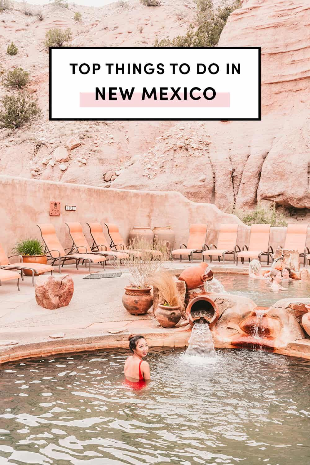 Top Things To Do In New Mexico by A Taste Of Koko. Explore New Mexico in 2019 with this ultimate travel guide! #newmexico #newmexicotravel #explorenewmexico