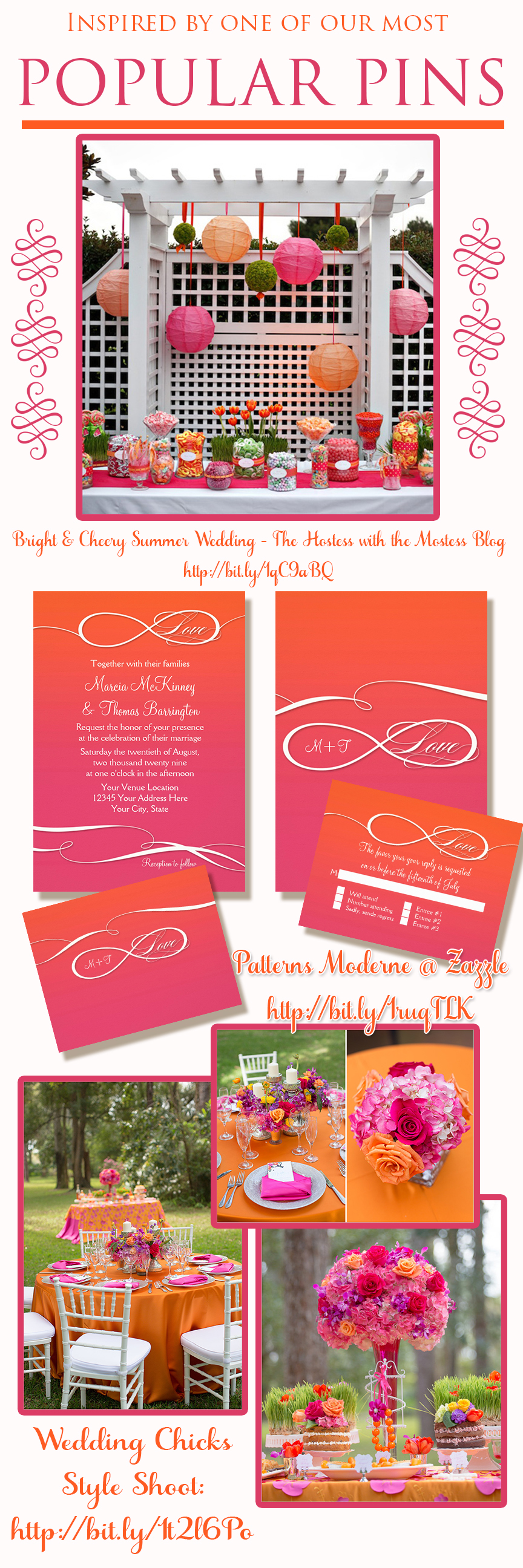 INFINITY SYMBOL :: INFINITE LOVE :: Wedding Invitation Collection ...