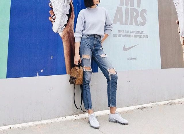 aventuras completar cuatro veces  IG : aniab | Nike outfits, Shoes outfit fashion, Nike air vapormax