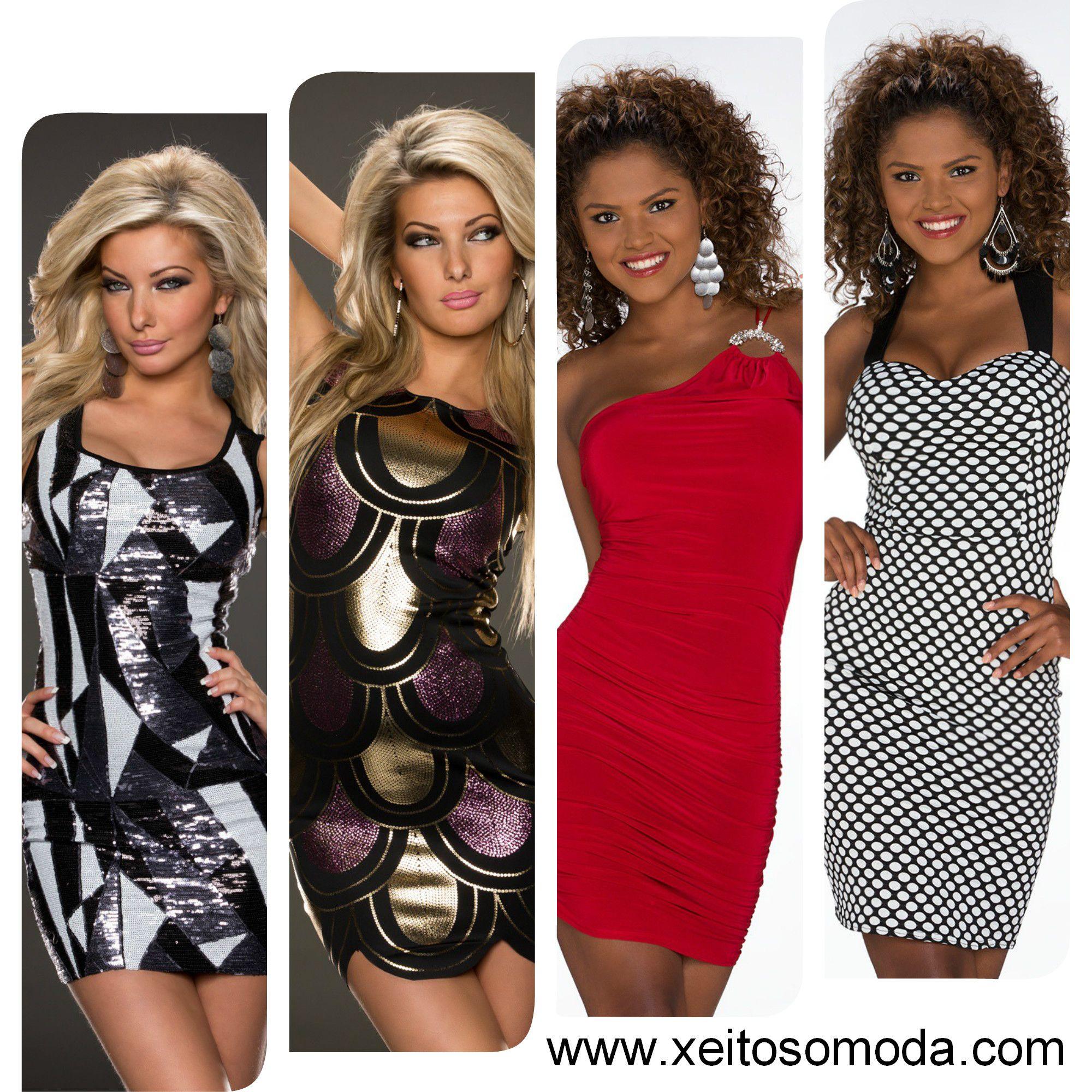 Ropa economica, vestidos para salir de marcha y fiesta, moda para chicas en España www.xeitosomoda.com
