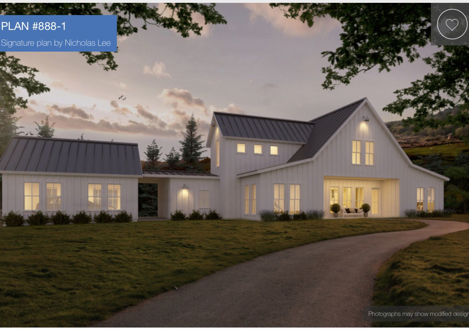This home plan 888 1 modern farmhouse nicholas lee dream for Nicholas lee architect