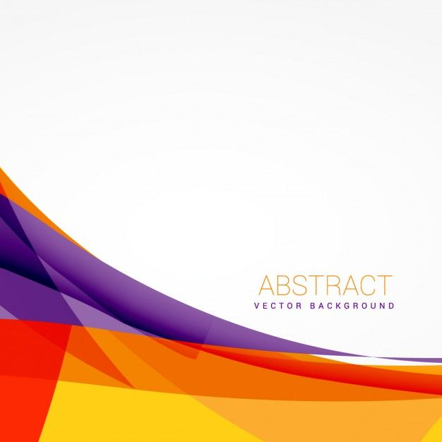 Download Abstract Colorful Background With Vector Shapes For Free