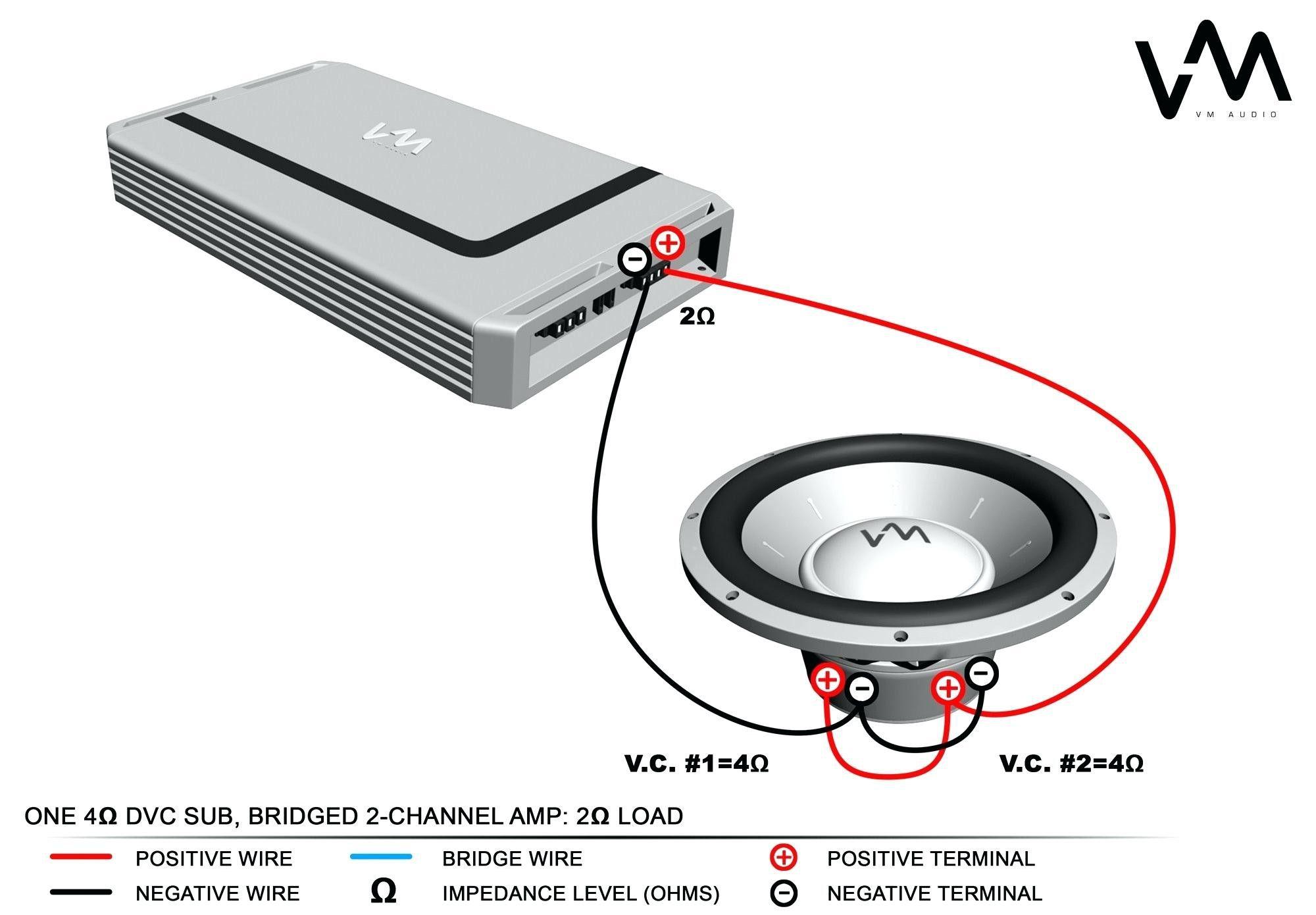 single subwoofer wiring diagram car audio capacitor single voice coil subwoofer wiring single subwoofer wiring [ 2000 x 1390 Pixel ]