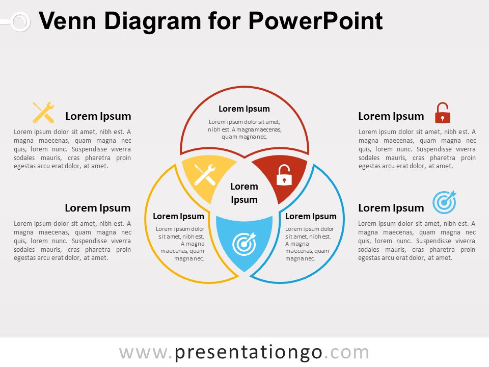 typable venn diagram minn kota power drive 55 wiring for powerpoint presentationgo com school free template colorful infographic design editable graphics with text placeholder use this to show overlapping