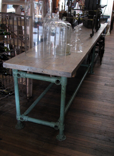 The Drill Hall Emporium: new in store! architect's table, French industrial table, plan drawers and more #frenchindustrial