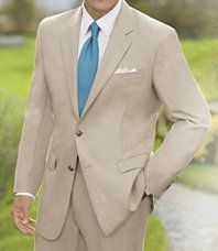 Suits with fun ties vs. Tuxes for summer wedding