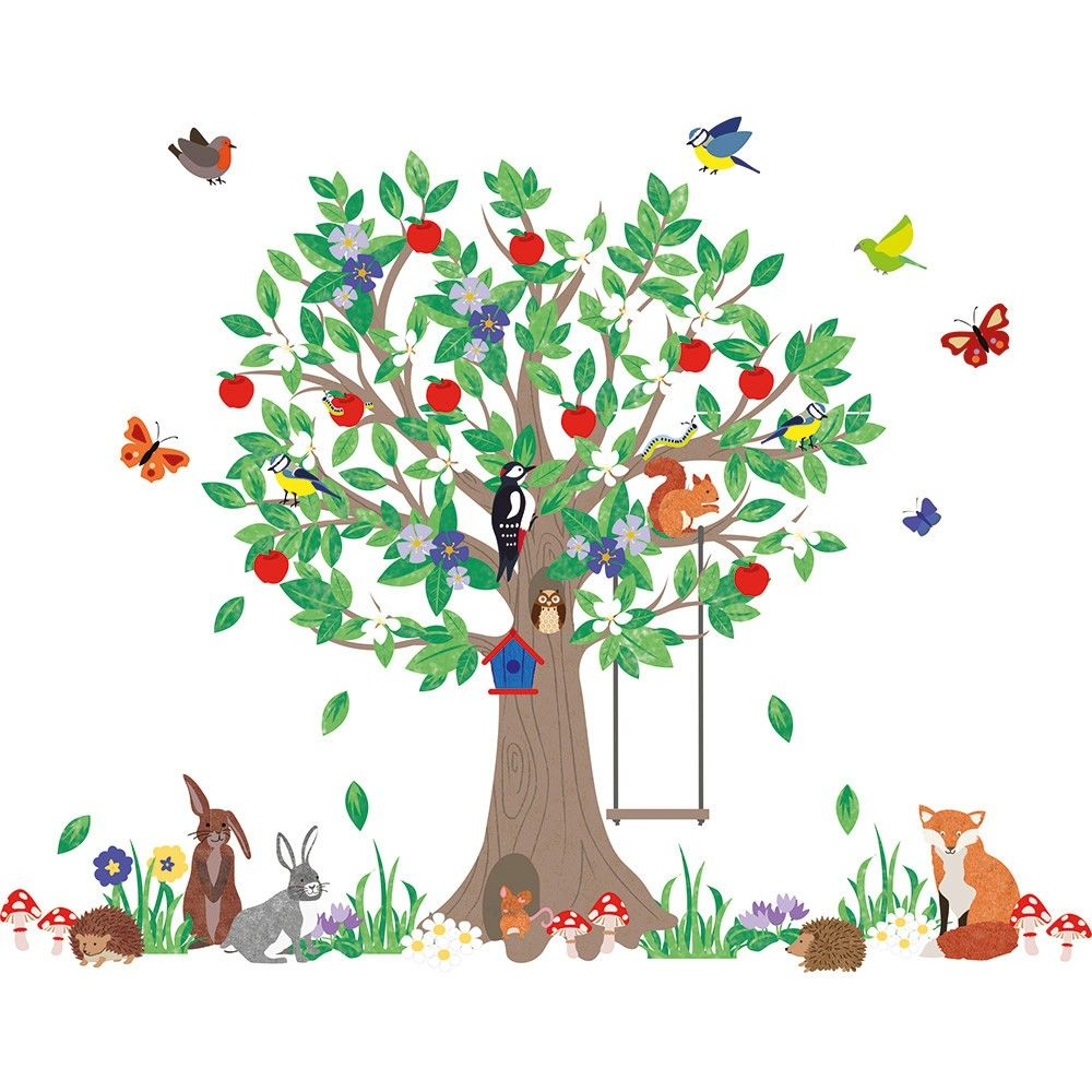woodland tree wall stickers jojo maman bebe baby pinterest woodland tree wall stickers room decorations and pictures nursery