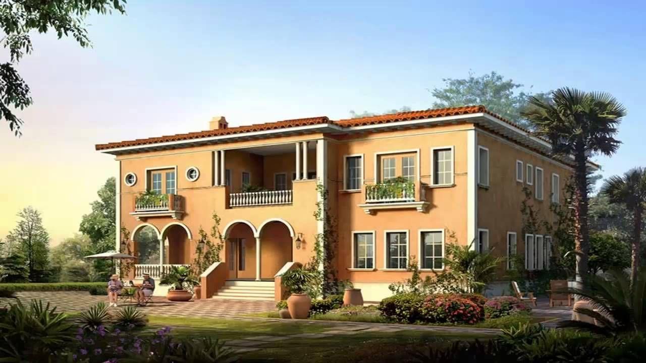 تصاميم واجهات منازل و فلل فخمة من الخارج بأفكار عصرية ديكورموز
