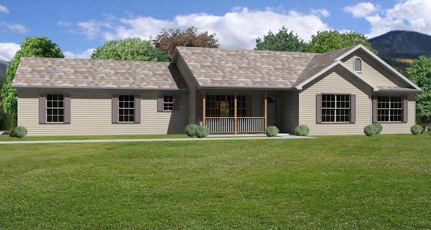 This image shows a front view of these Ranch Home Plans ... on will house, nick house, california style house, redman house, rosie house, sophie house, white beach house, old house,