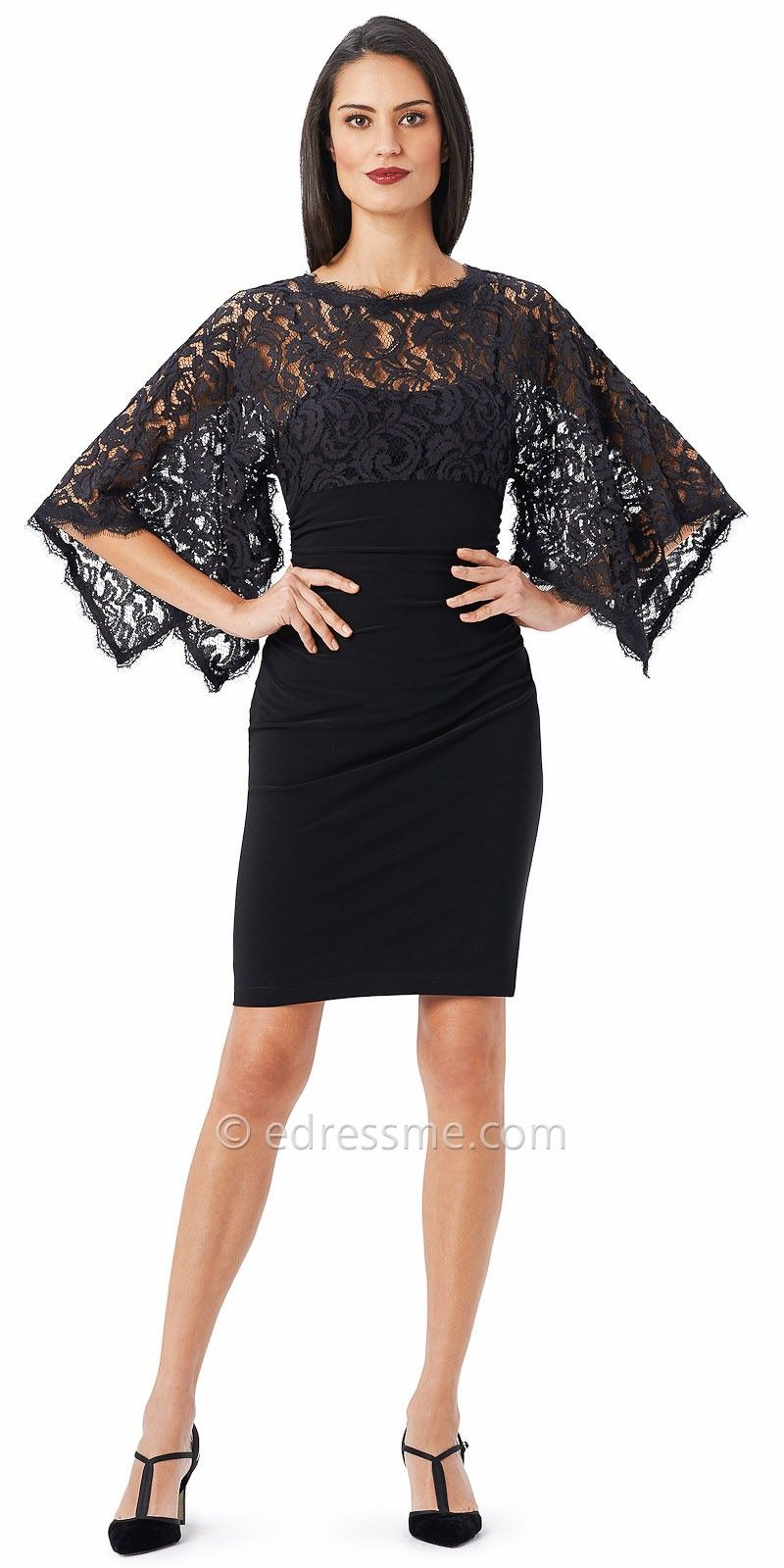 lace_kimono_sleeve_cocktail_dress_by_adrianna_papell_1.jpg | #10 ...