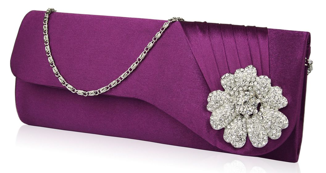 Stylish-bridal-purple-clutch | Stylish Branded handbags & clutches ...