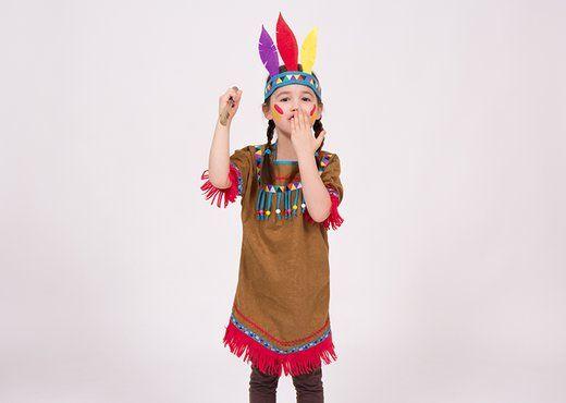 Indianer Kostum Fur Kinder Selber Nahen Indianer Kostum Kind Indianerin Kostum Kostume Kinder Madchen