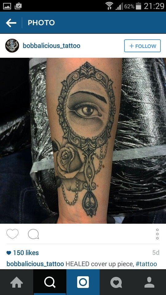 Vintage Mirror Tattoo Vintage Mirror Tattoo Mirror Tattoos Vintage Tattoo Sleeve