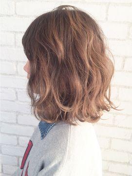波ウェーブとろみボブ Ba18116 24時間いつでもweb予約ok ヘアスタイル10万点以上掲載 お気に入りの髪型 人気のヘアスタイルを探すならkirei Style キレイスタイル で ヘアスタイル ボブパーマ ウェーブ 髪型
