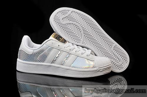Adidas Women Superstar white pink gold BY3724 Premium fashion