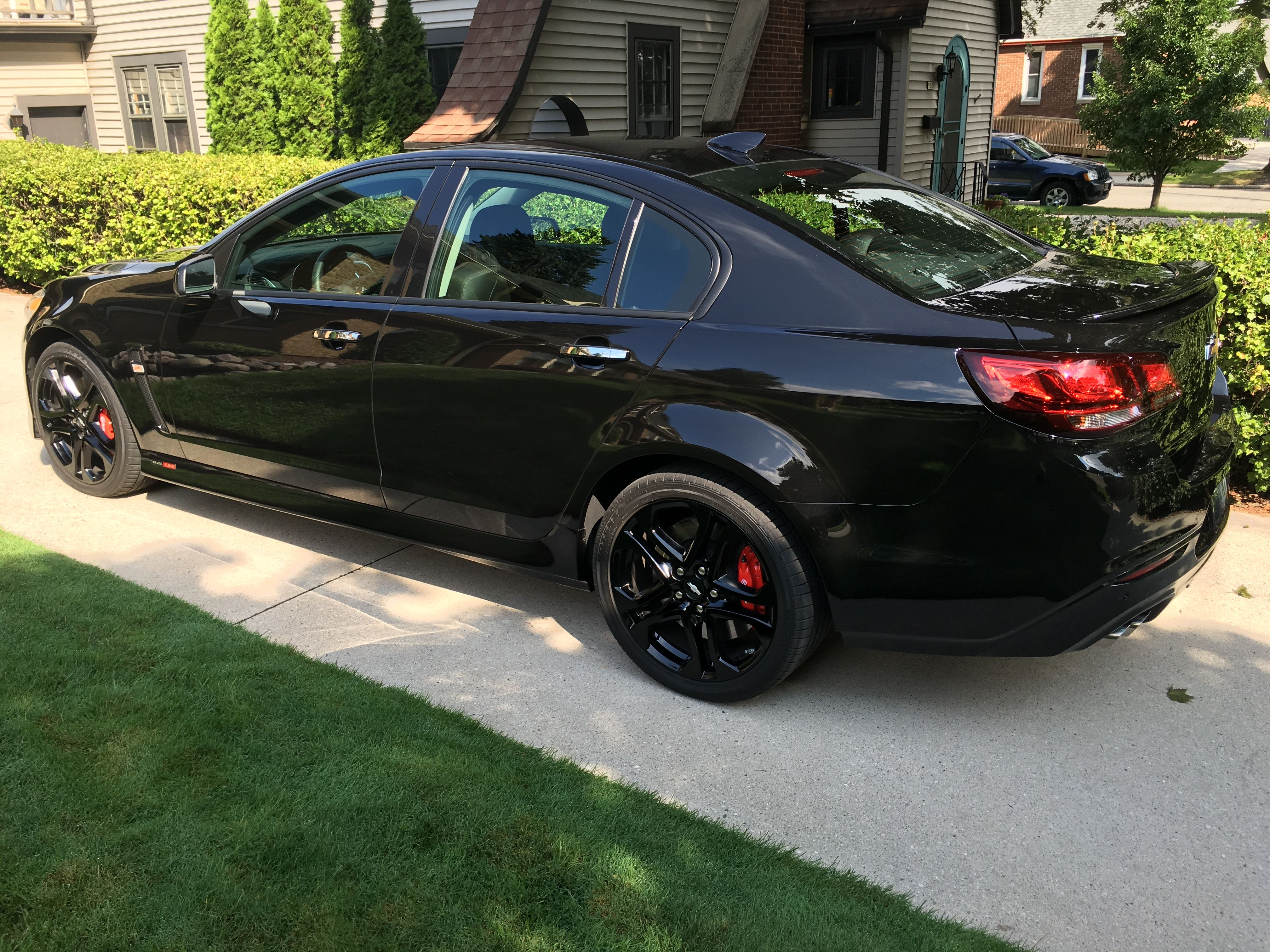 2016 chevy ss with blackout treatment
