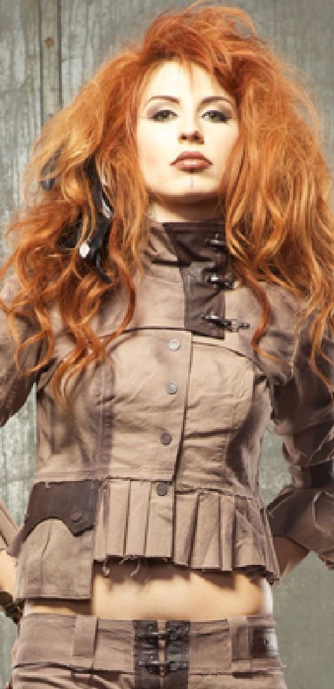 Lip Service Desert Exile Victorian Steampunk Apocalyptic Women Jacket Black NEW
