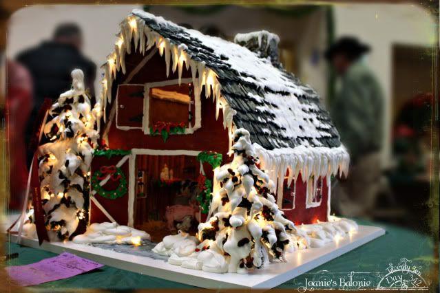 342 Gingerbread Barn Yummy In My Tummy Christmas In