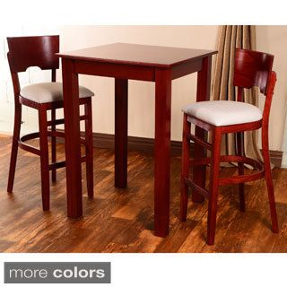 3-piece Pub Set  sc 1 st  Pinterest : pub table set 3 piece - pezcame.com