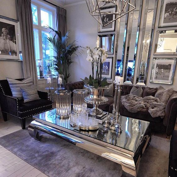Gorgeous, Love All The Statement Furniture And Decor