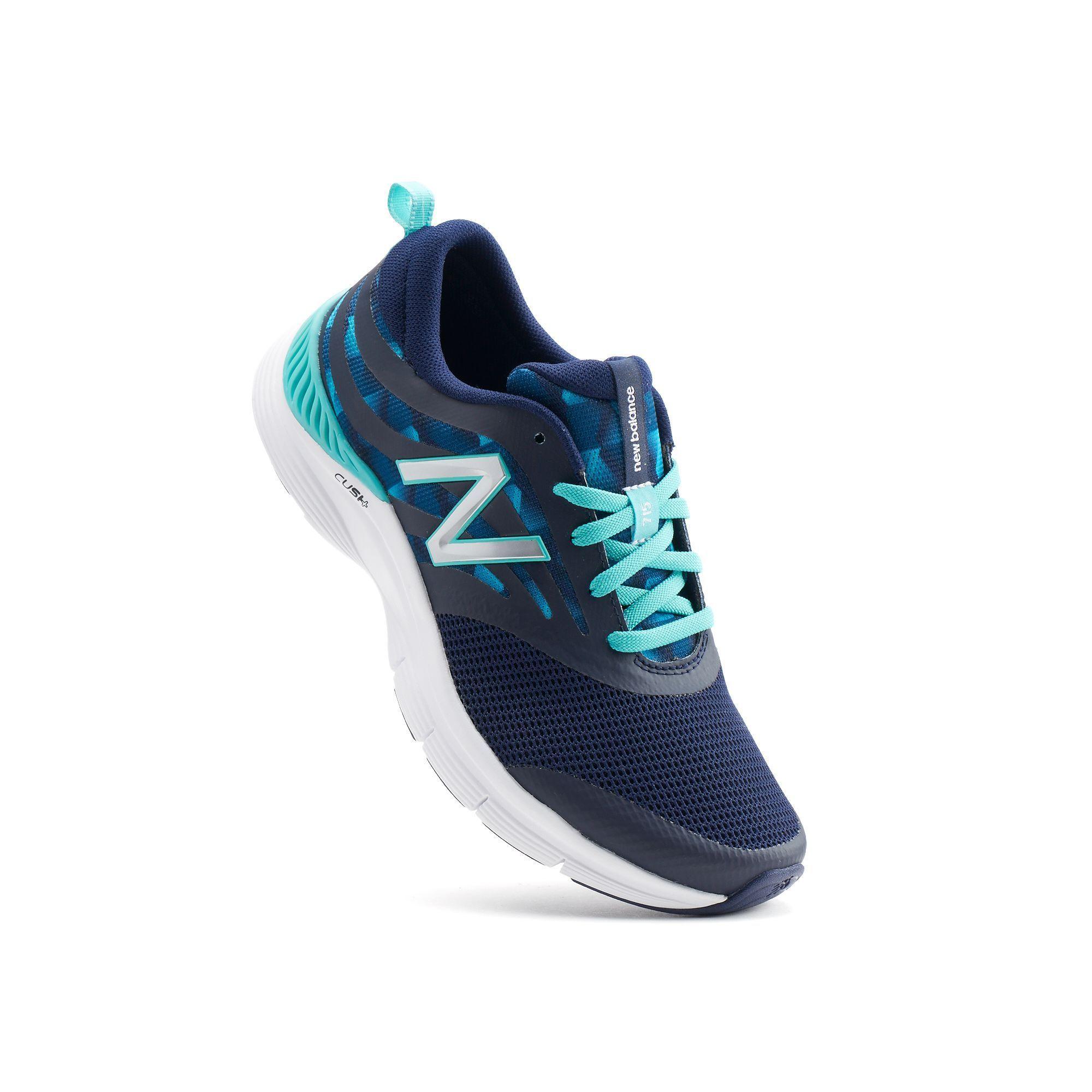 New Balance 715 Cush+ Women's Cross-Training Shoes, Size: 7.5 Wide, Blue