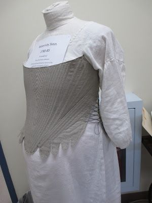 Costume Design Center at Colonial Williamsburg - Maternity Stays & Costume Design Center at Colonial Williamsburg - Maternity Stays ...
