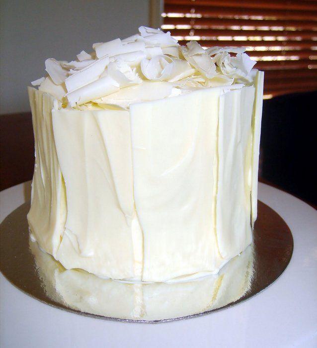 White Chocolate Ganache Cake Wedding Cake Ganache Cake
