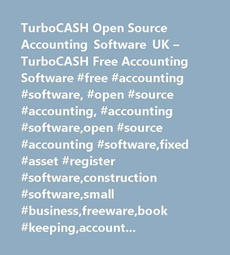 TurboCASH Open Source Accounting Software UK u2013 TurboCASH Free - free accounting ledger