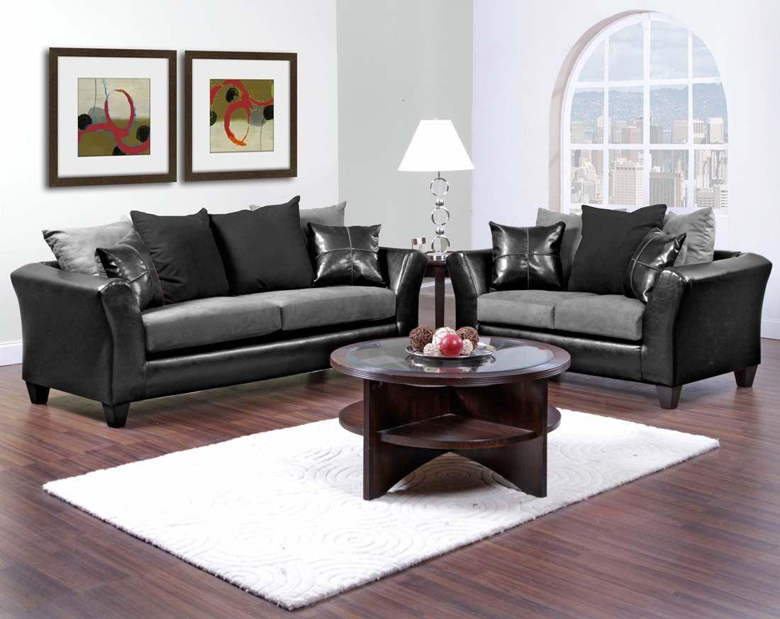 black microfiber sofa set genuine leather corner bed gray and couch sierra graphite