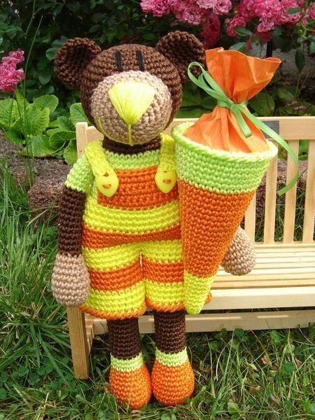 Bjarne, crochet Bear ♥