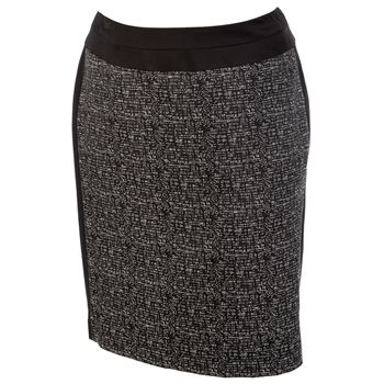 eaa3b440fa6 Tahari Plus Size Silvia Two-Tone Pencil Skirt